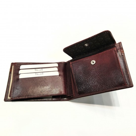 Thesaurus leather wallet